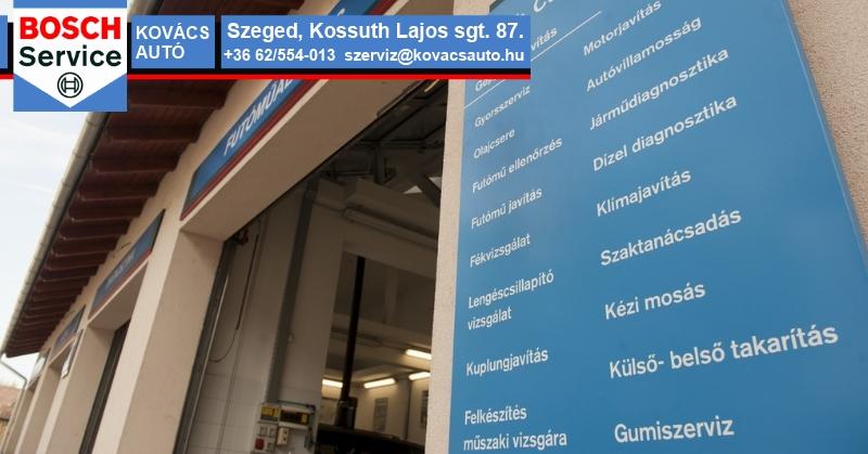 Kovács Autószerviz szolgáltatások