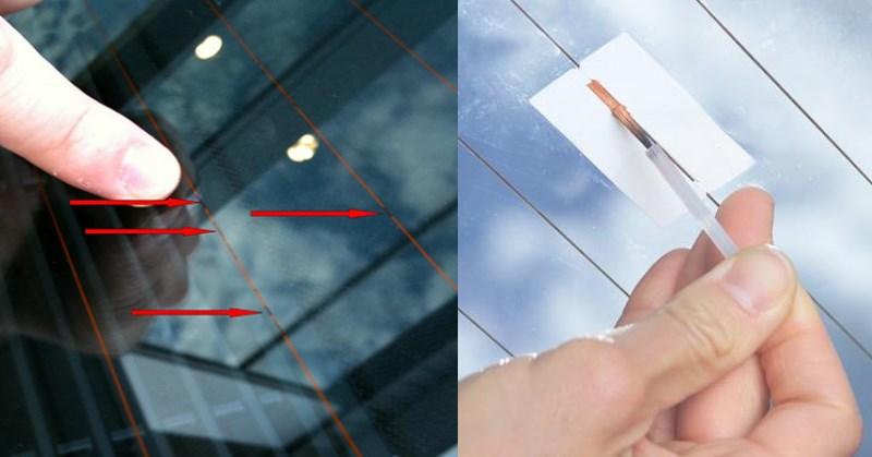 Hátsó ablakfűtés hiba javítása
