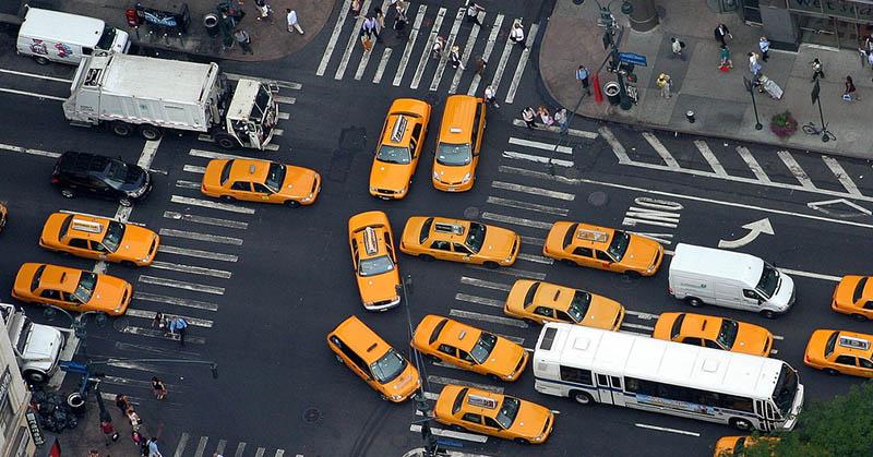 Amerikai városok, ahol a legnagyobb a forgalom