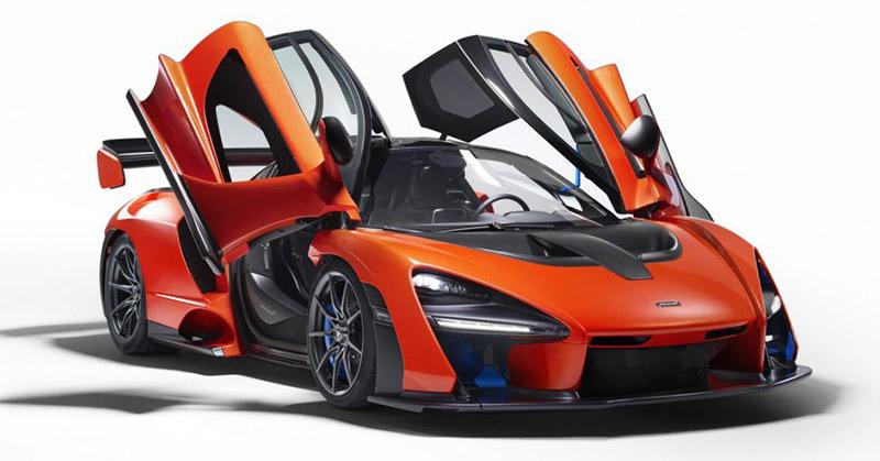 Figyelemfelkeltő név, 800 lóerő: megérkezett a McLaren Senna