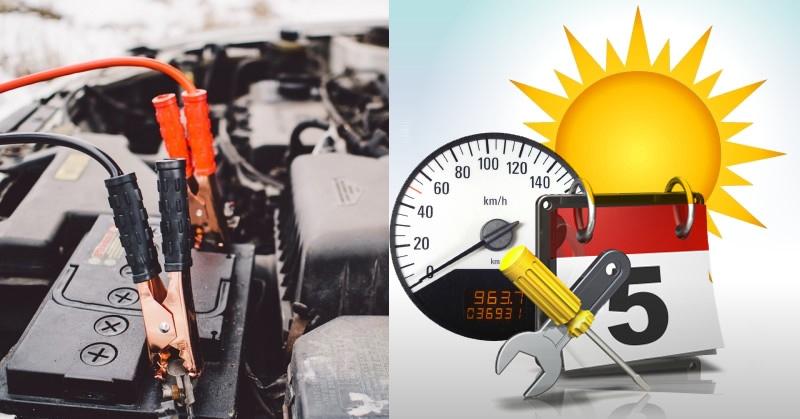 Nyáron is vigyázni kell az akkumulátorra