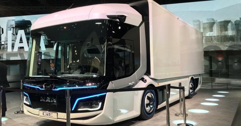 A MAN új teherautója már a jövőt idézi