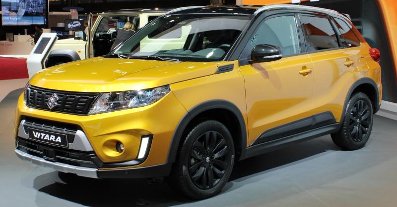 Bemutatták a megújult Suzuki Vitarát