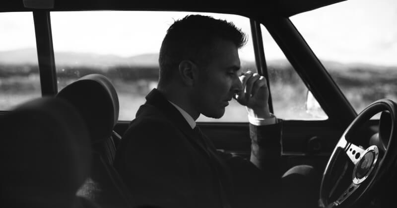 Stresszelő sofőr