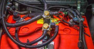 piros AGM akkumulátor