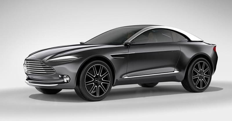 Az Aston Martin is belevág a SUV gyártásba