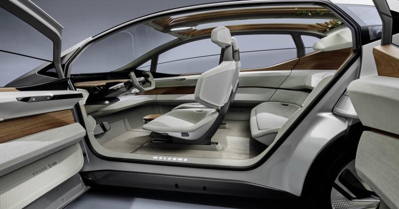 Audi AI:ME utastere