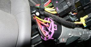 Audi gyújtáskapcsoló berendezése