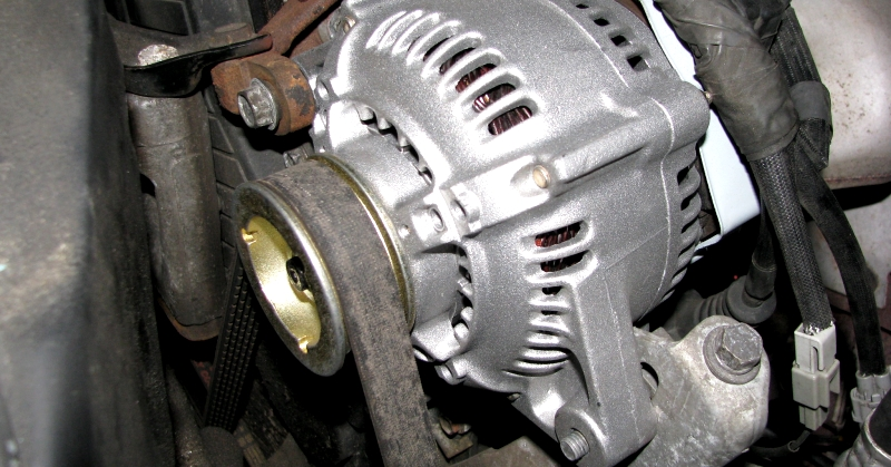 Kocsiba szerelt generátor