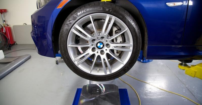 BMW futóművének beállítása