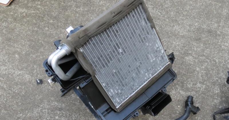 Kiszerelt fűtőradiátor