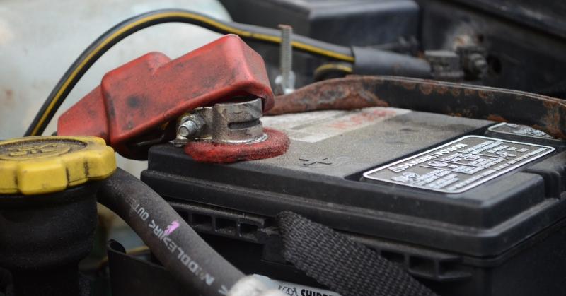 Használt akkumulátor a kocsiban