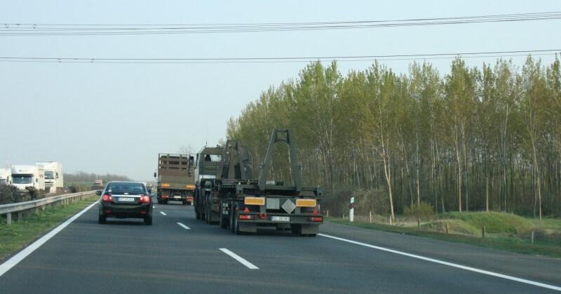 M5-ös autópálya egyik szakasza