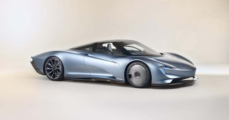 Gyorsabb, mint Alonso autója, itt a McLaren Speedtail