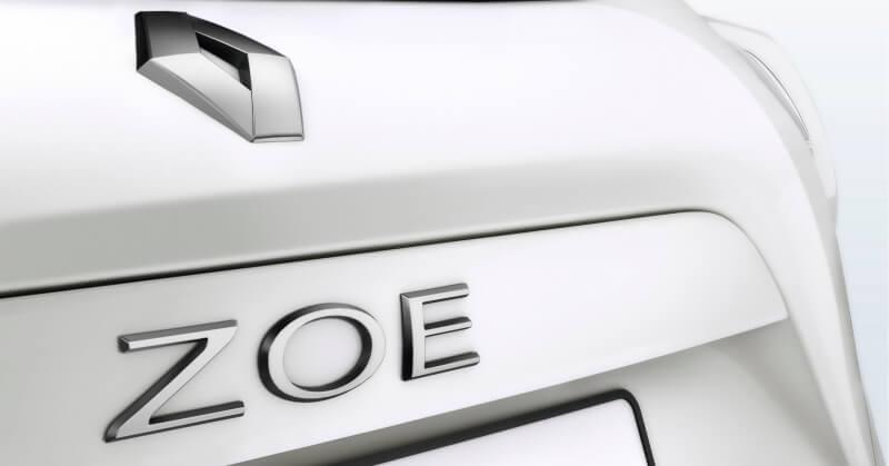 Fehér Renault Zoe